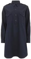 Polo Ralph Lauren Women's Military Shirt Dress Indigo