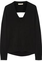 Michael Kors Cutout Cashmere Sweater - Black