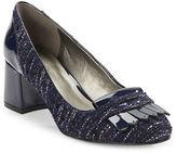 Bandolino Odonna Suede and Patent Heels