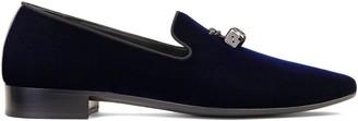 Giuseppe Zanotti Elio dice-charm loafers
