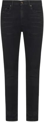 Saint Laurent Skinny 5 Pockets Jeans