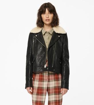 Andrew Marc Estella Leather Jacket
