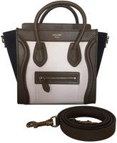 Celine Luggage shoulder bag in leather.