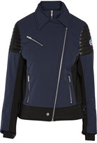 Fusalp - Bonneval Leather-trimmed Shell Ski Jacket - Navy