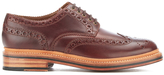 Grenson Men's Archie Pull Up Leather Brogues Chestnut