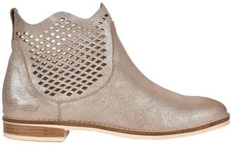 Pataugas Maeva F2F Metallic Leather Boots