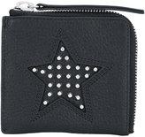 McQ by Alexander McQueen solstice zip wallet - unisex - Calf Leather - One Size