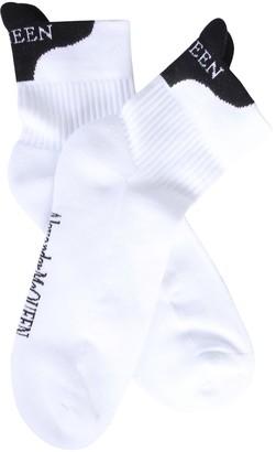 Alexander McQueen Socks With Logo