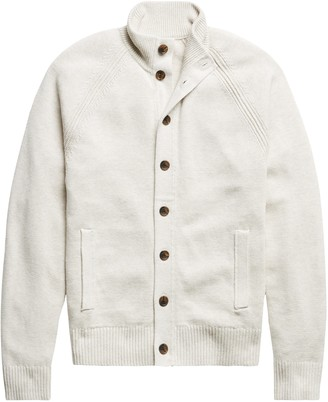 Banana Republic Organic Cotton Sweater Jacket