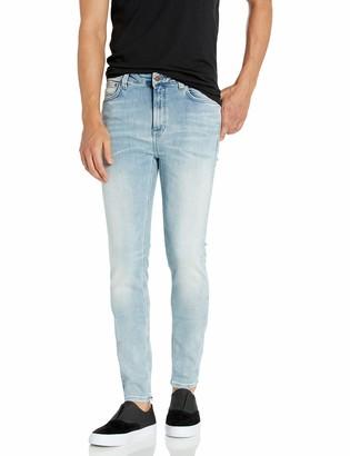 Nudie Jeans Unisex-Adult's Hightop Tilde Tonal Bleach 34/30