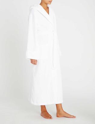 The White Company Hooded hydrocotton robe