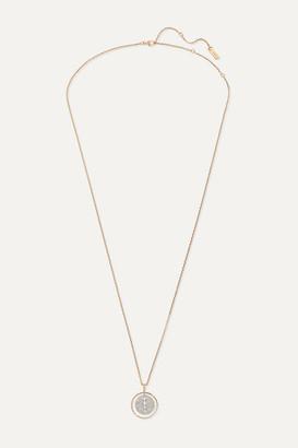 Messika Lucky Move 18-karat Rose Gold Diamond Necklace - one size