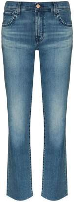J Brand Adele straight leg jeans
