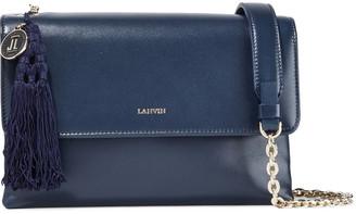 Lanvin Small Sugar Tasseled Leather Shoulder Bag