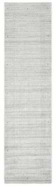 Solo Rugs Runner Grayson Hand-Knotted Gray Area Rug