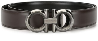 Salvatore Ferragamo Gancini plaque belt