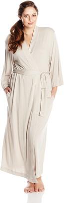 Natori Women's Plus-Size Shangri-La Robe (Plus)