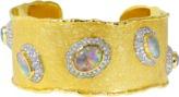 VICTOR VELYAN Australian Opal Cuff Bracelet