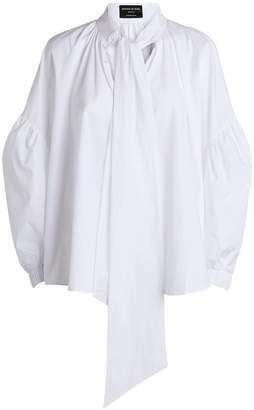 Mother of Pearl Gladys Pussybow Smock Top