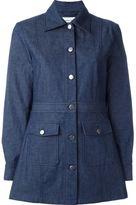 Wood Wood fitted denim coat