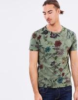 Replay Floral Print T-Shirt