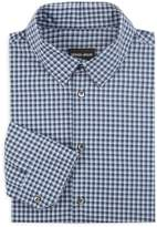 Giorgio Armani Gingham Dress Shirt
