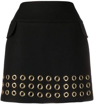Mulberry Elie eyelet detail skirt