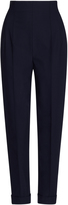 Salvatore Ferragamo High Waisted Straight Trousers