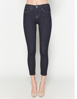 L'Agence The Margot High Rise Ankle Skinny In Midnight