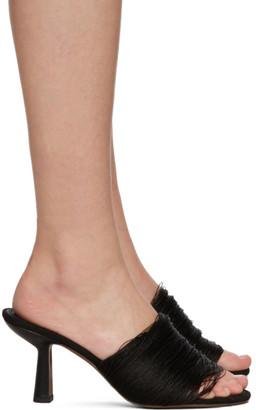 Neous Black Symra 80 Heeled Sandals