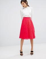 Oasis Lace Midi Skirt