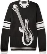 Dolce & Gabbana - Intarsia Silk Sweater