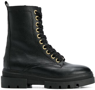 Tommy Hilfiger Chunky Combat Boots