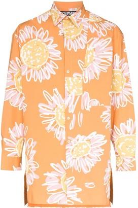 Jacquemus La Chemise Paul floral printed shirt