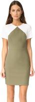 Diane von Furstenberg Short Sleeve Tailored Sheath Dress