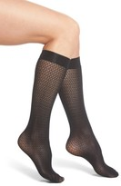 Wolford Women's Rhomb Net Knee High Stockings