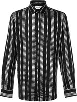 Saint Laurent star stripe print shirt