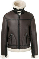 Lanvin shearling jacket - men - Calf Leather - 46