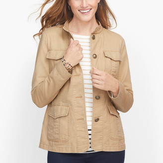 Talbots Band Collar Jacket
