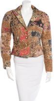 Roberto Cavalli Patterned Jacquard Jacket