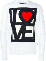 Love Moschino 'love me' printed sweatshirt