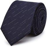 Reiss Malta - Silk Patterned Tie in Blue, Mens