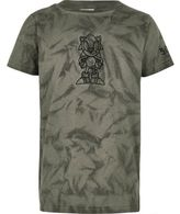 River Island Boys grey Sonic embroidered T-shirt