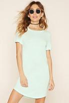 Forever 21 Curved Hem T-Shirt Dress