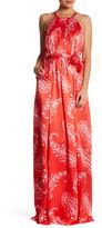 Cynthia Rowley Floral Silk Maxi Dress