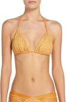 Luli Fama Women's Triangle Bikini Top