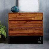 west elm Logan Industrial 3-Drawer Dresser - Natural