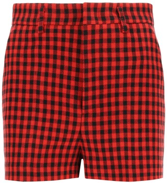 RED Valentino gingham shorts