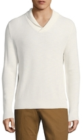 Brooks Brothers Ribbed Cotton-Blend Sweater