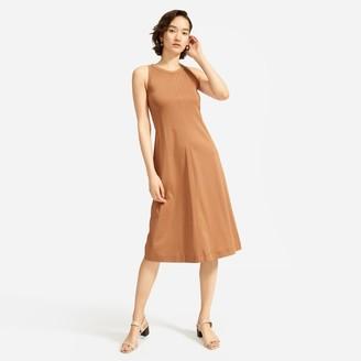 Everlane The Luxe Cotton Midi Tank Dress